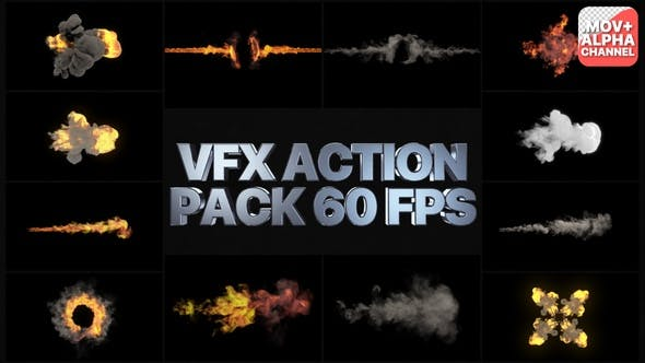 VFX Action Pack | Motion Graphics