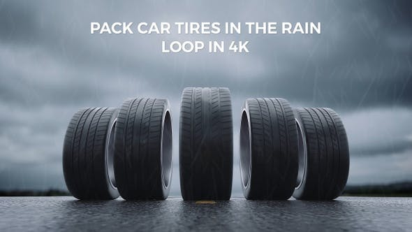 Pack Car Tires In The Rain