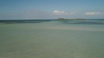 Tropical Island Tanduyong with Beach