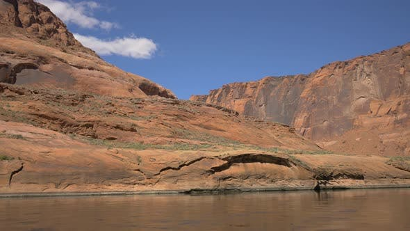 Thumbnail for Colorado River and arid cliffs
