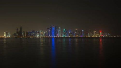 Business Buldings Doha Skyscrapers in Qatar