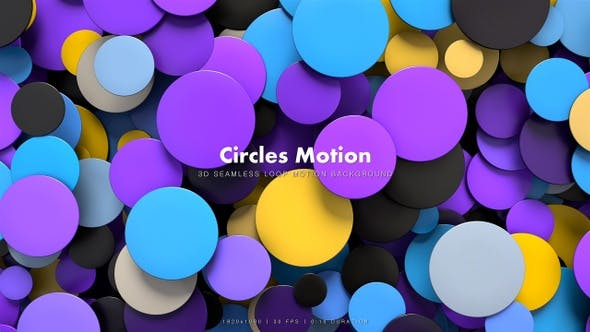 Thumbnail for Circles Shapes Motion 3