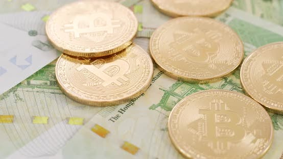 Thumbnail for Bitcoin und Hong Kong Banknote