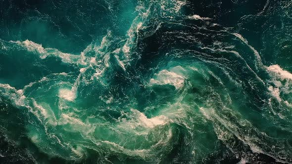 Cover Image for Waves of Water of the River and the Sea Meet Each Other