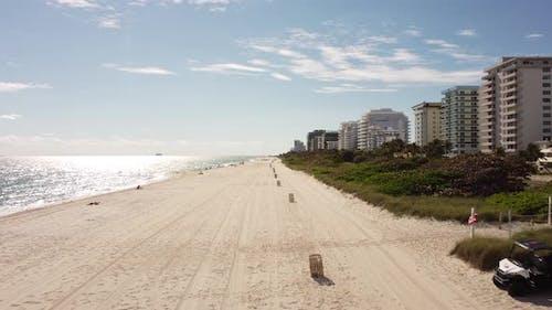 Scene In Miami Beach January Winter 2021