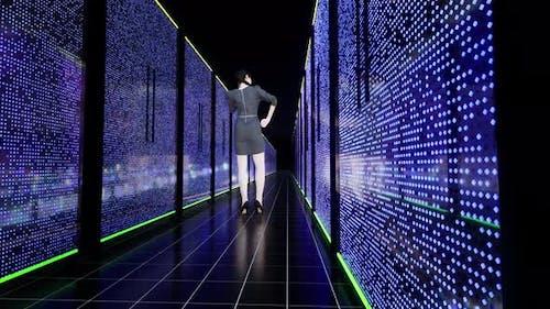 Data Center Farm Building Internet Technology Big Data