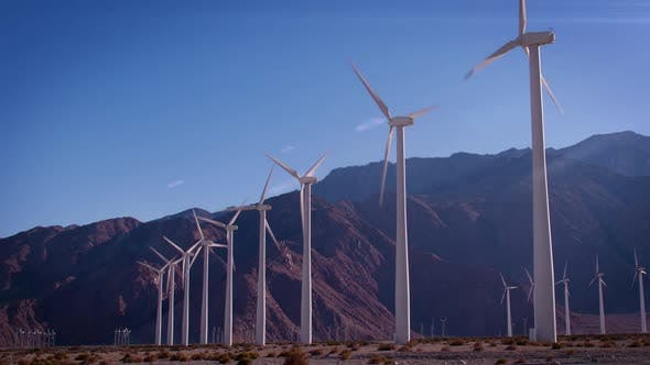 Thumbnail for Wind Farm In California
