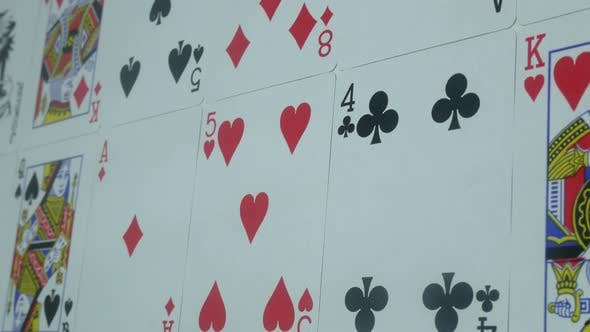 Thumbnail for Beautiful Modern Deck Of Poker Cards On The Table