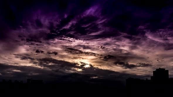 Sunset time lapse.
