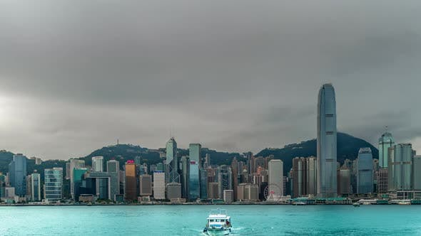 Cover Image for Timelapse View of Hong Kong City