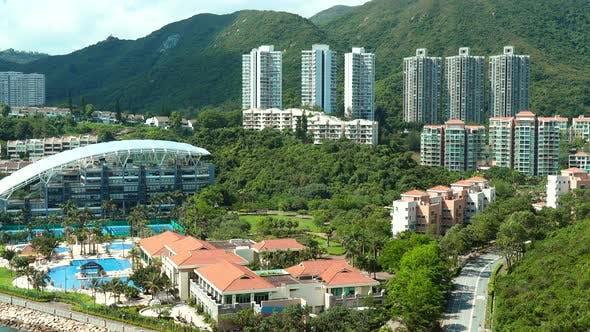 Discovery bay in Hong Kong
