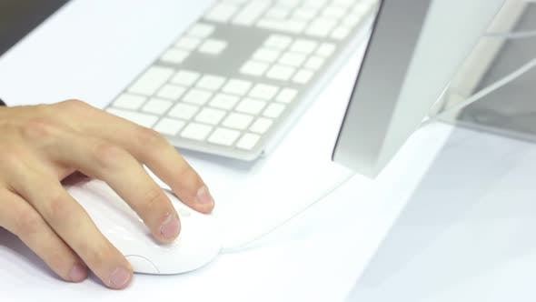 Thumbnail for Woman Uses A Modern Computer