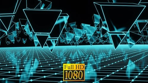 Invasion Of The Neon Pyramids HD