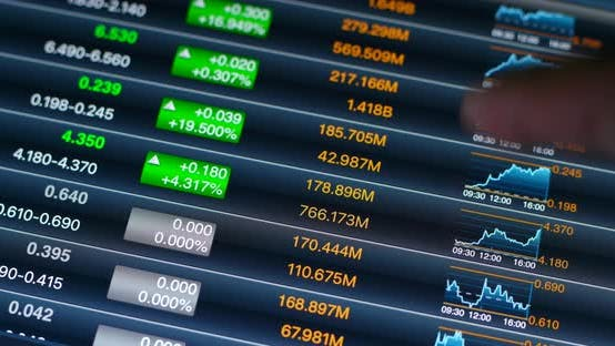 Cover Image for Stock market data on tablet computer