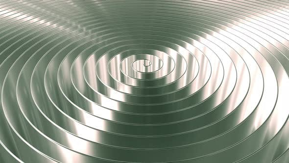 Cover Image for Rotating Shiny Coil