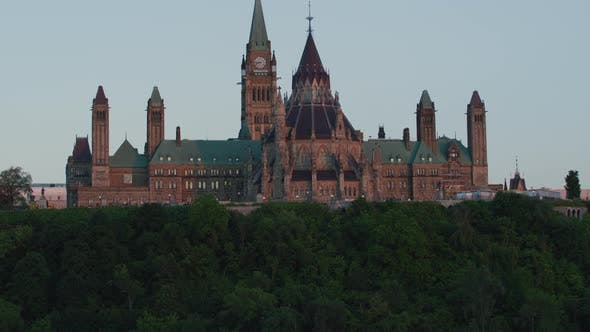 Thumbnail for Ottawa River and Parliament Hill