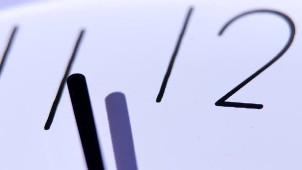 Thumbnail for Clock in a Classic Style, Close-up
