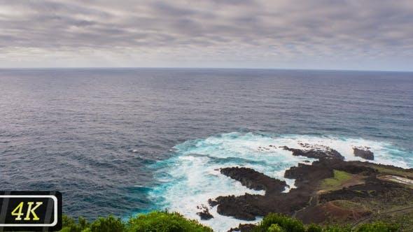 Thumbnail for Atlantic Ocean Coastline on San Miguel Island, Azores