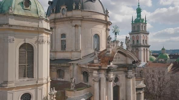Thumbnail for Aerial City Lviv Ukraine