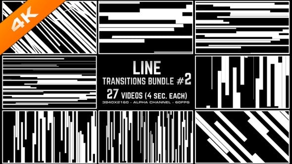 Thumbnail for Line Transitions Bundle 2 - 4K