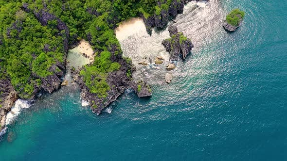 Thumbnail for Wild White Sand Beach. Caramoan Islands, Matukad , Philippines.