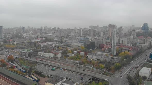 Cloudy Weather Cityscape
