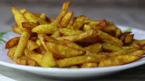 Appetizing French Fries