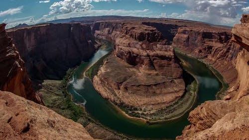 Horseshoe Bend in Arizona Time Lapse
