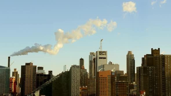 Thumbnail for Cityscape Skyline of Modern Urban Metropolis