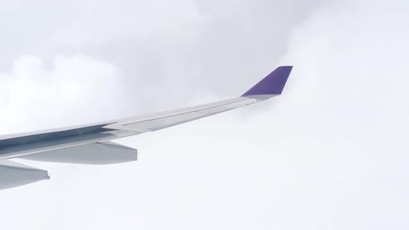 Flying an Airplane Through the Clouds