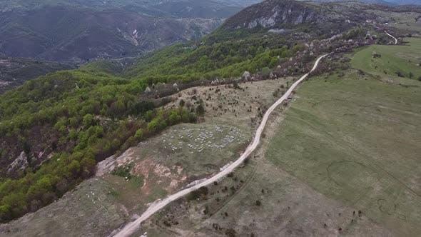 Thumbnail for Stecak Medieval Tombstone Aerial V4