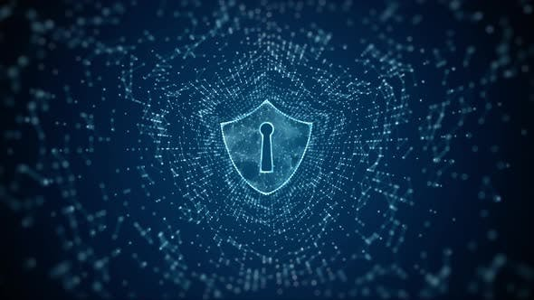 Shield Icon Of Cyber Security 01064