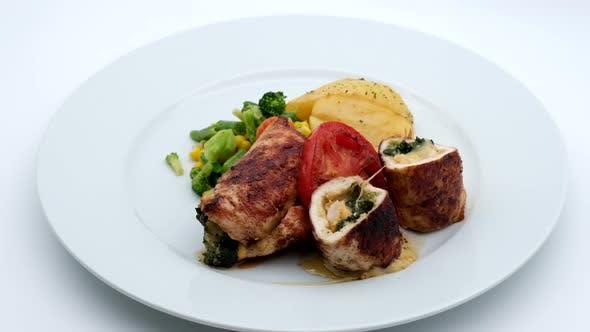 Delicious Restaurant Food Chicken