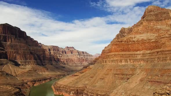 Thumbnail for View of Grand Canyon Cliffs and Colorado River