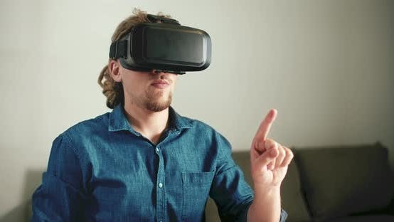 Cover Image for Wearing VR Headset