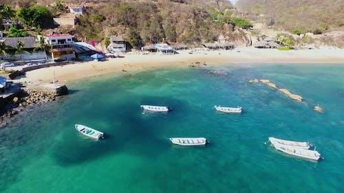 Playa de Tehuamixtle, Jalisco. México