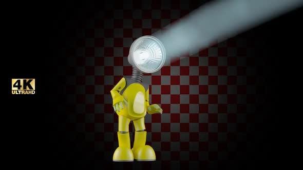 3D Licht Roboter