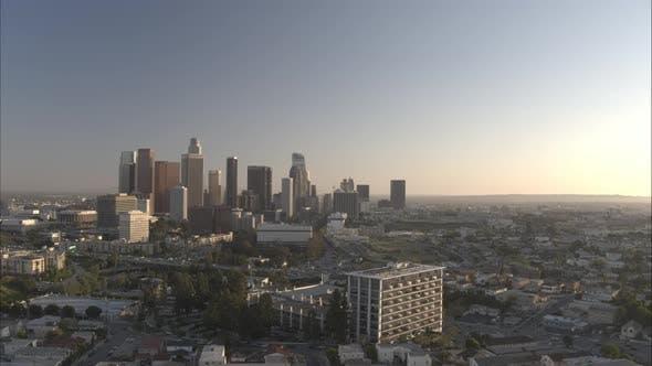 Thumbnail for LA Drone Sunset