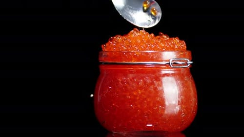 Take Red Caviar with a Spoon