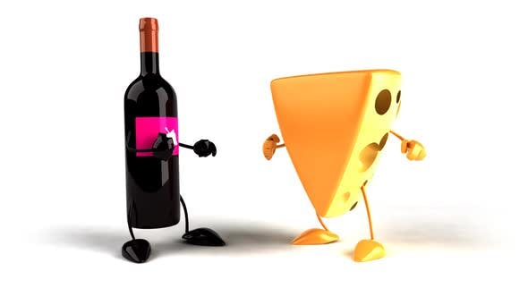 Thumbnail for Fun cheese and wine