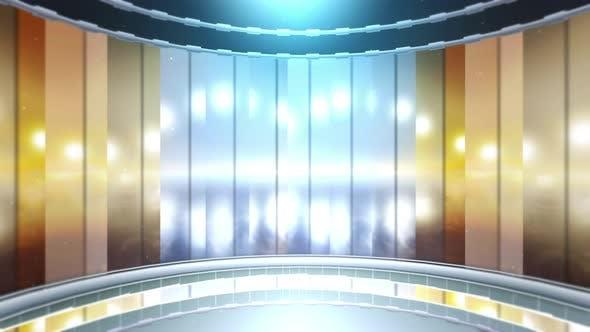 Virtual Studio Style News Background