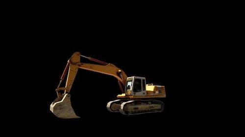 Excavator Digger Work Loop