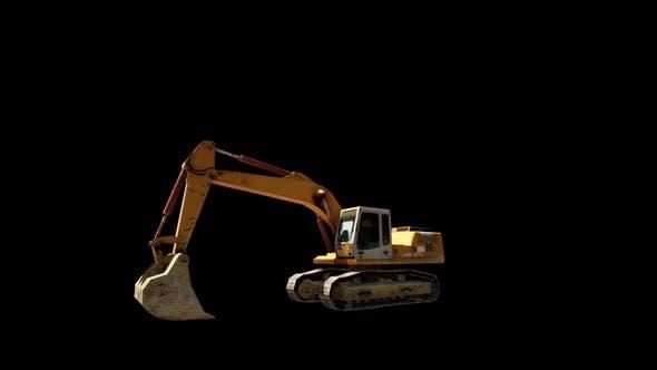 Thumbnail for Excavator Digger Work Loop