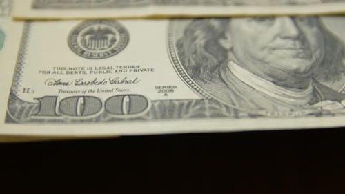 100 Dollar Money Bills
