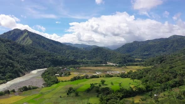 Thumbnail for Cordillera on Luzon Island, Philippines, Aerial View
