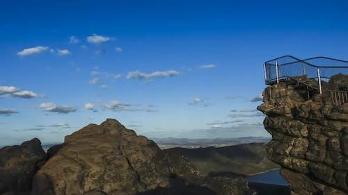 Timelapse on top of Pinnacle, Australia