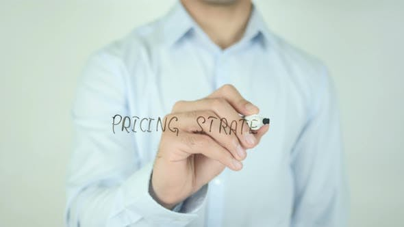 Thumbnail for Pricing Strategy, Writing On Screen