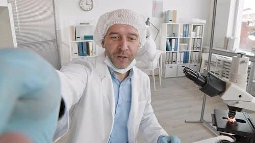 Doctor Filming for Vlog
