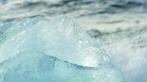 Iceberg in Diamond Beach