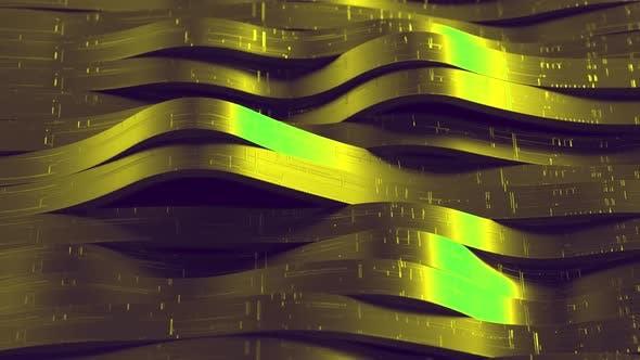 Futuristic Large Wave